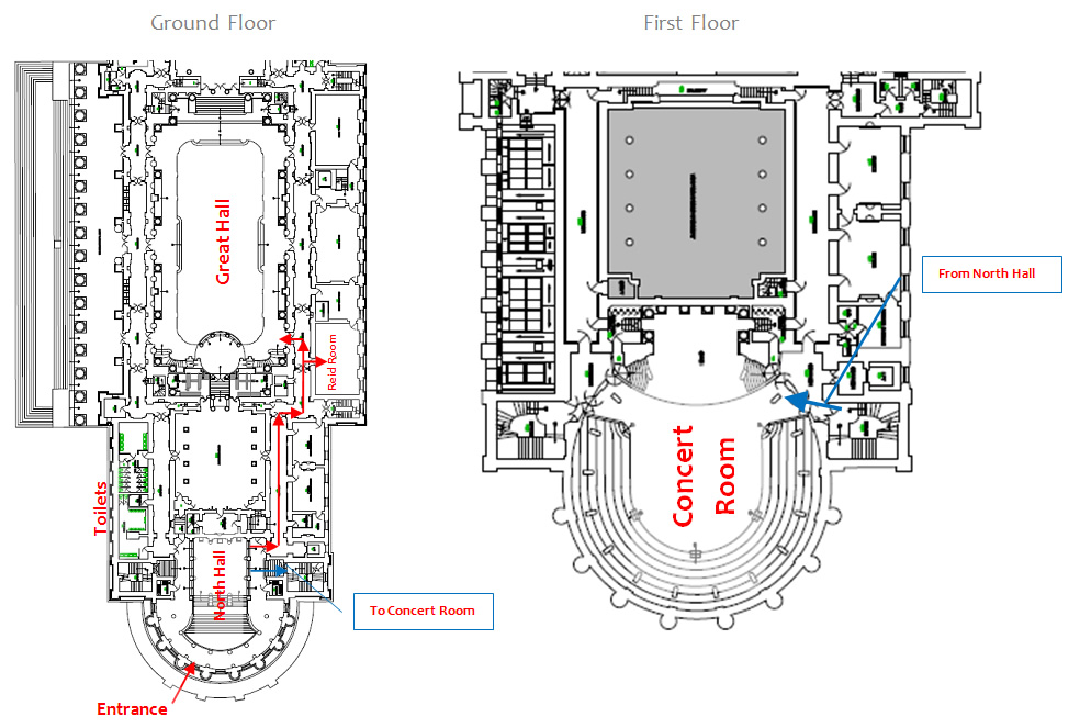 St Georges Hall Floor Plan Bopss